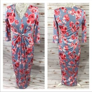 Boutique Floral Dress
